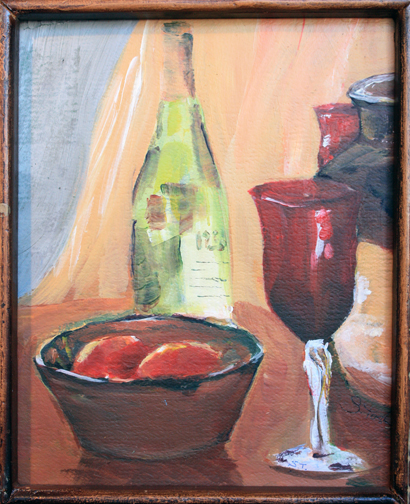Still life Painted at the Casa