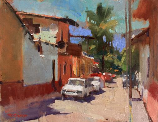 R Sexton Street in El Tuito
